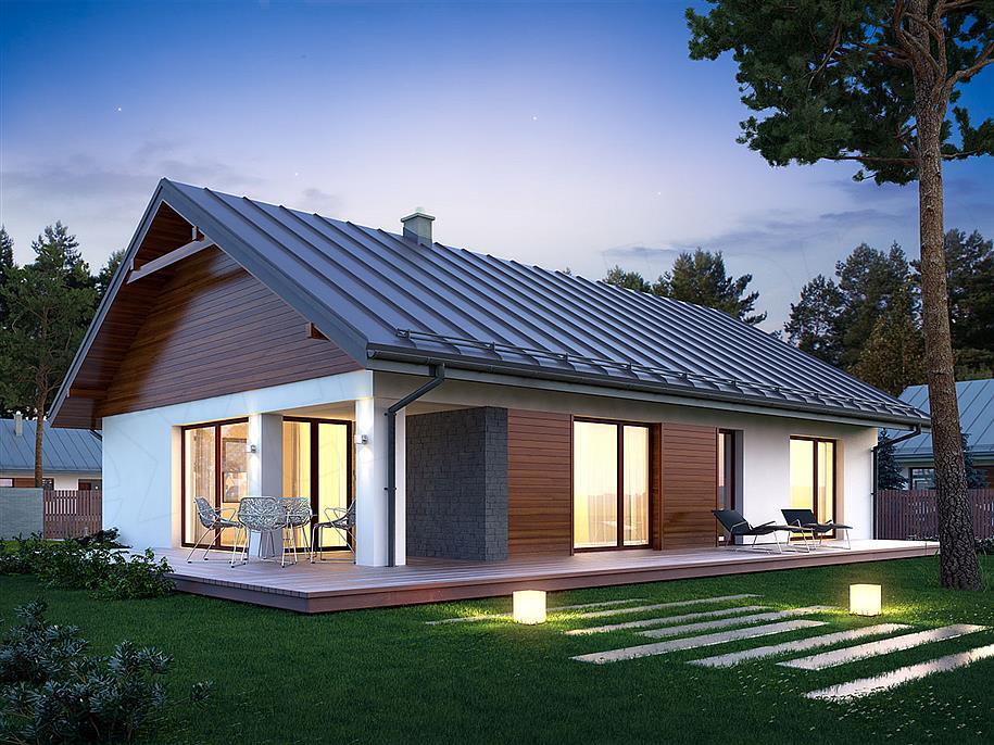 Zaktualizowano Zbudujemy.com Domy Drewniane Dom nowoczesny Endo RU09